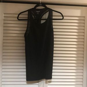 Old navy go dry active tank with mesh detail